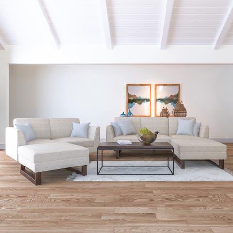 Hayden Sofa, Loveseat and 2 Ottoman living room set