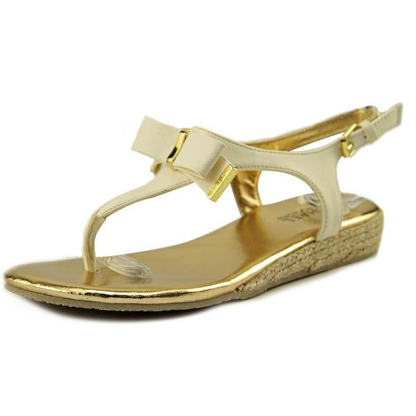 Michael Michael Kors Perry Crysty Women Open-Toe Synthetic Slingback Sandal