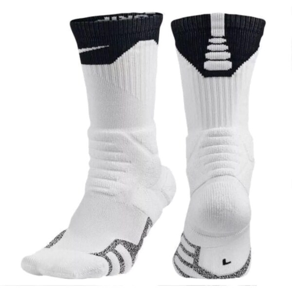 d56365ef0 Shop Nike Nikegrip Power Basketball Socks SX5367 - Free Shipping On Orders  Over $45 - Overstock - 21616941