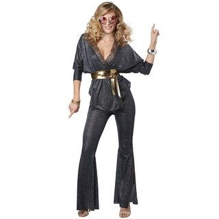 California Costumes Disco Dazzler Adult Costume - Grey (5 options available)