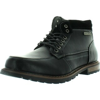 Rocawear Men's Mike-02 Combat Boots - Black - 10 d(m) us