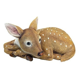 Design Toscano Hershel, the Forest Fawn Baby Deer Statue