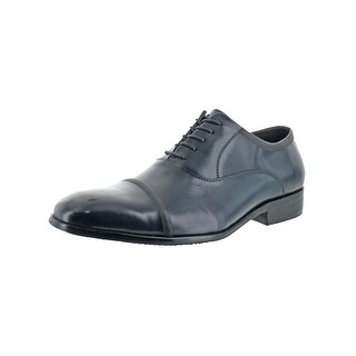 Kenneth Cole Reaction Mens DESIGN21181 Oxfords Cap Toe Lace-Up