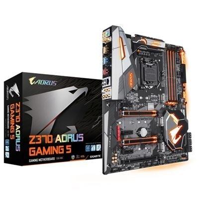 Gigabyte Technology Z370 Aorus Gaming 5 Z370 Ddr4 Hdmi Dp