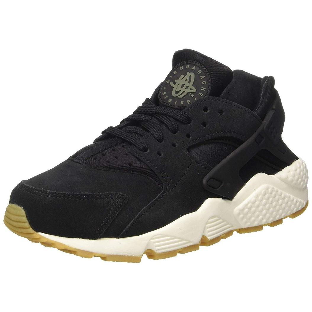 28e1a3d8bea04 Shop Nike Women s Air Huarache Run SD Black White AA0524-001 - Free  Shipping Today - Overstock - 25753506