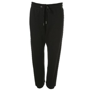 Steve Madden Womens Fleece Side Panel Lounge Pants
