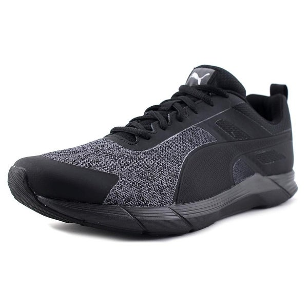 Puma Propel Heather Men Puma Black-Puma Silver Running Shoes
