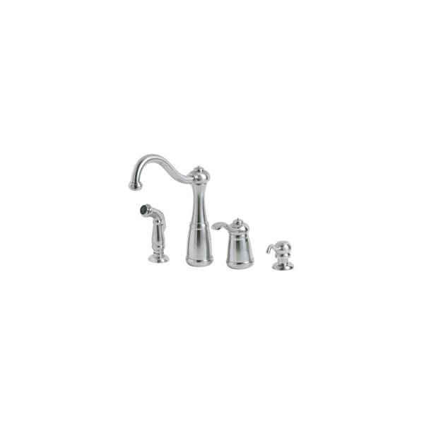 Shop Pfister Lf 026 4ns Marielle Kitchen Faucet Includes Soap