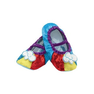 Disguise Rainbow Dash Child Slippers - Blue
