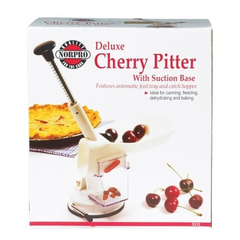 Norpro 5121 Deluxe Cherry Pitter with Suction Base