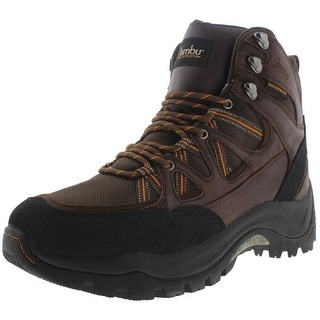 Jambu Mens Flex Climber Hiking Boots Leather Waterproof