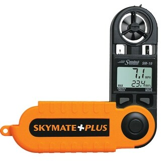 WeatherHawk SM-19 Skymate Plus w/Humidity, Dew Point, Temp