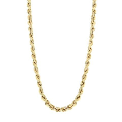 3ddf1921ed093 Buy 10k Gold Chains & Necklaces Online at Overstock | Our Best ...