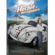 Signed Lohan Lindsay Herbie Fully Loaded Original Movie Poster autographed