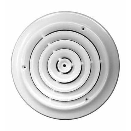 "Truaire C800-08 Greystone Round Ceiling Diffuser, 8"""