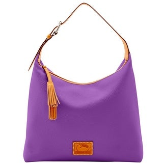 Dooney & Bourke Patterson Leather Large Paige Sac (Introduced by Dooney & Bourke at $298 in Dec 2016) - violet