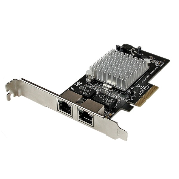 Startech - St2000spexi 2Port Pcie (X4) Gbe Networkncard - Intel Chipset