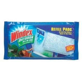 Windex 70118 Outdoor All-In-One Pads Refill, Pack/2