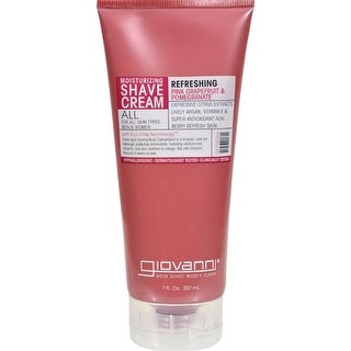 Giovanni Hair Care Products - Pink Grapefruit And Pomegranate Moisturizing Shave Cream ( 2 - 7 OZ)