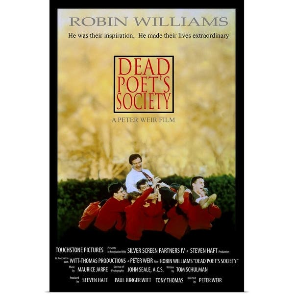 Shop Dead Poets Society 1989 Poster Print Overstock 24137843