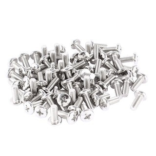 Unique Bargains 78 Pcs VESA TV LCD Display Holder Mounting Phillips Head Screws M4 x 10mm