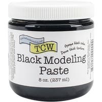 Crafter's Workshop Modeling Paste 8Oz-Black