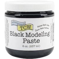 Crafter's Workshop Modeling Paste 8Oz-Black