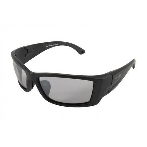 Allen 22762 Meta Ballistic Shooting Glasses with Smoke Mirror Lens