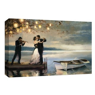 """PTM Images 9-148156  PTM Canvas Collection 8"""" x 10"""" - """"Twilight Romance"""" Giclee Couples Art Print on Canvas"""