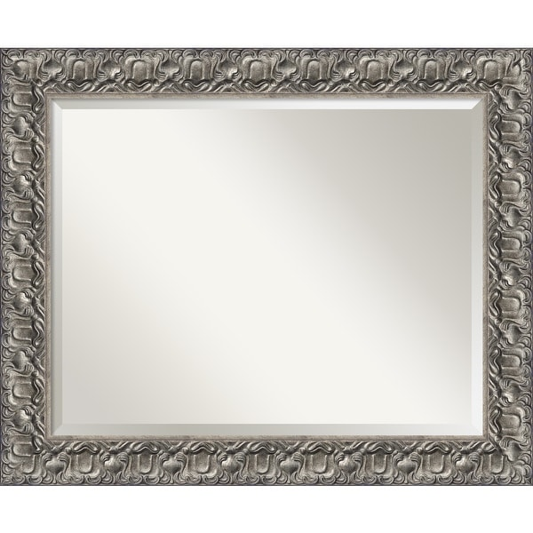 Wall Mirror, Silver Luxor Wood. Opens flyout.