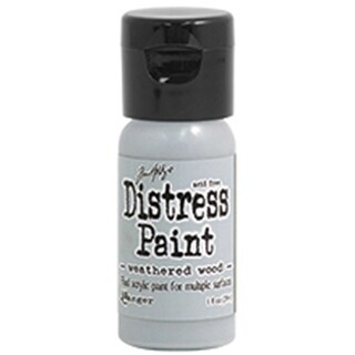 Distress Paint Flip Top 1oz-Weathered Wood