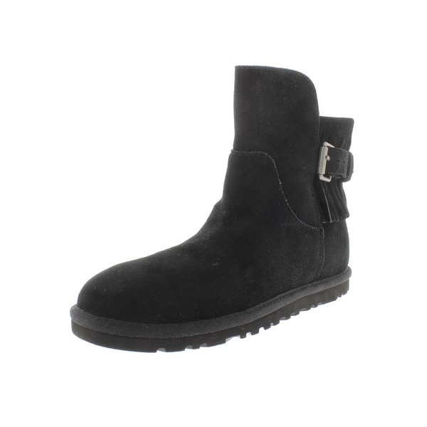 c9e406d4903 Shop Ugg Australia Womens Ankle Boots Suede Fringe - Free Shipping ...
