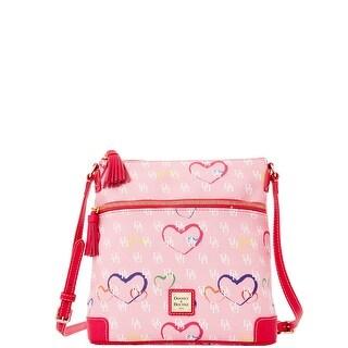 Dooney & Bourke Sweetheart Crossbody (Introduced by Dooney & Bourke at $188 in Nov 2015) - Pink Multi