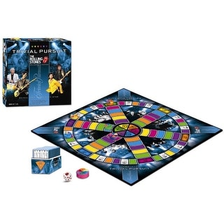 The Rolling Stones Collectors Edition Trivial Pursuit Boardgame