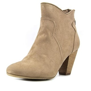 Report Maryin   Round Toe Synthetic  Ankle Boot