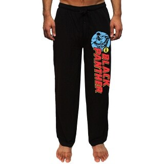 Marvel The Black Panther Comic Print Men's Lounge Pajama Pants