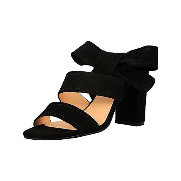 Ivanka Trump Womens Kiffie Dress Sandals Block Heel Strappy