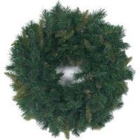 "- Mixed Pine Wreath 180 Tips; 24"""