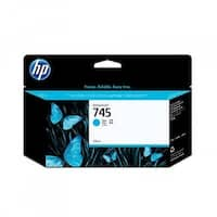 HP 745 130-ml DesignJet Photo Cyan Ink Cartridge (F9J97A)(Single Pack)