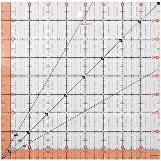 "Fiskars Quilting Ruler-8-1/2""X8-1/2"""