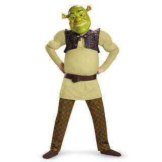 Boys Classic Shrek Muscle Halloween Costume