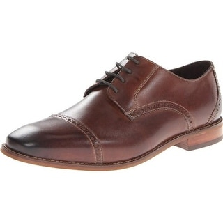 Florsheim Mens Castellano Cpox Leather Toe Cap Oxfords