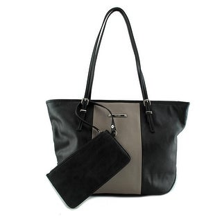 Nine West Society Girl Women Synthetic Black Tote