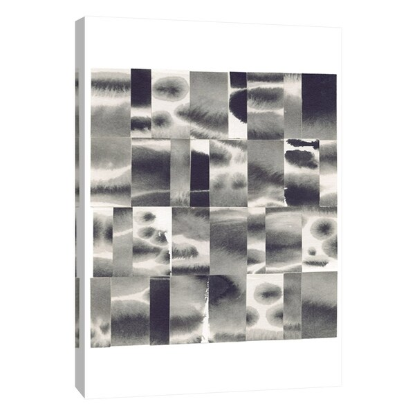 """PTM Images 9-108702 PTM Canvas Collection 10"""" x 8"""" - """"Squares 2"""" Giclee Abstract Art Print on Canvas"""