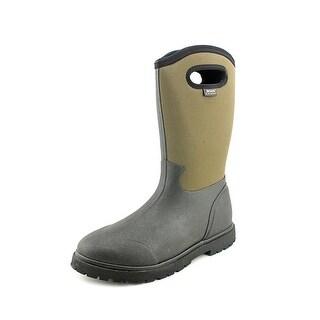 Bogs Roper Men  Round Toe Synthetic Black Work Boot