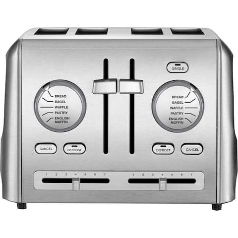 Cuisinart CPT-640 Stainless Steel Custom Select 4-Slice Toaster