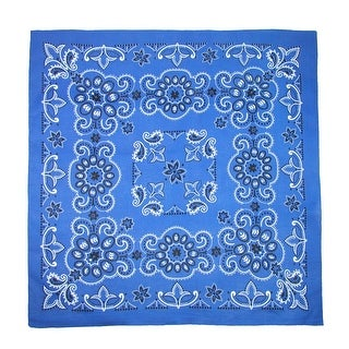 Link to CTM® 27 Inch Extra Large Cotton Texas Paisley Bandana - one size Similar Items in Hair Accessories