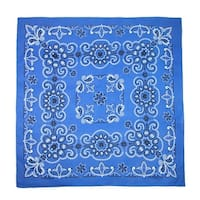 CTM® 27 Inch Extra Large Cotton Texas Paisley Bandana - One size