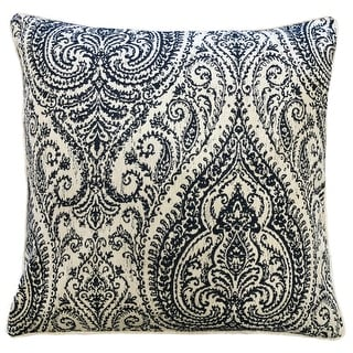 Link to Rodeo Home Polina Traditional Damask Linen Throw Pillow Similar Items in Decorative Accessories