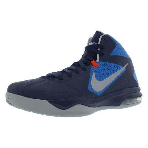 eb5696b3cd90 Shop Nike Men s Air Max Body U Mid Basketball Shoes - On Sale - Free ...